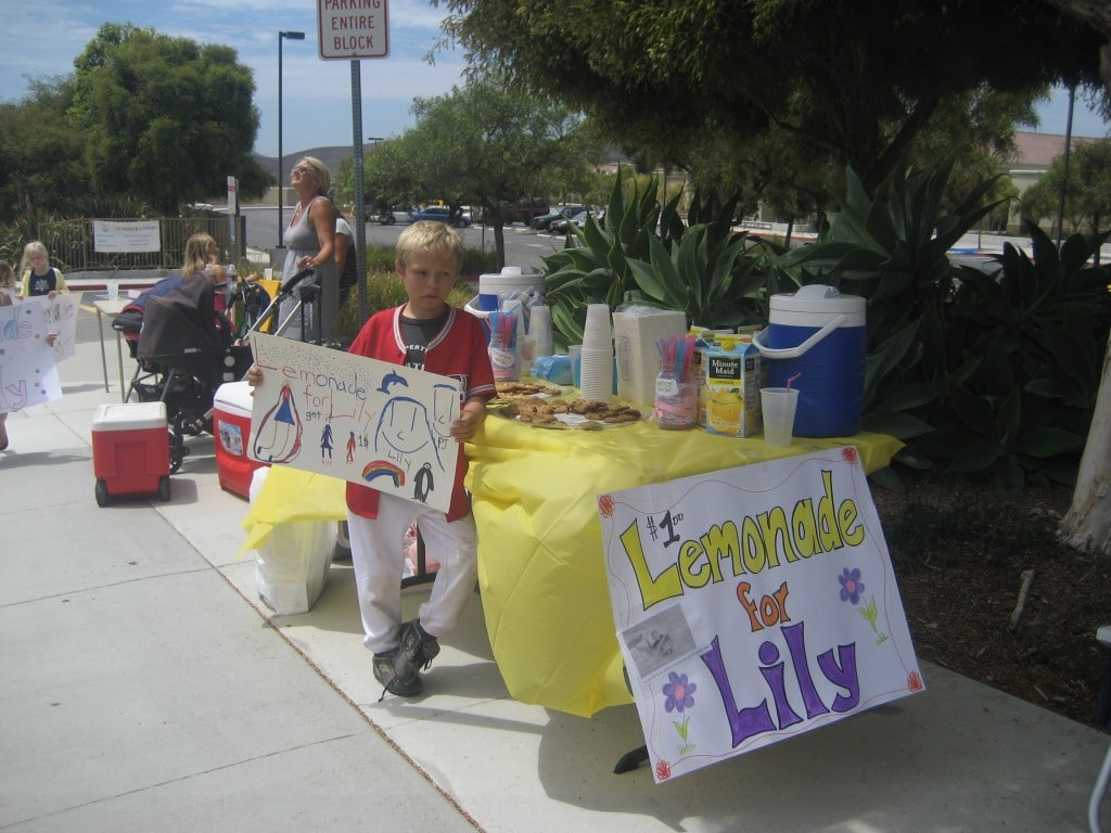 Lemonade for Lily