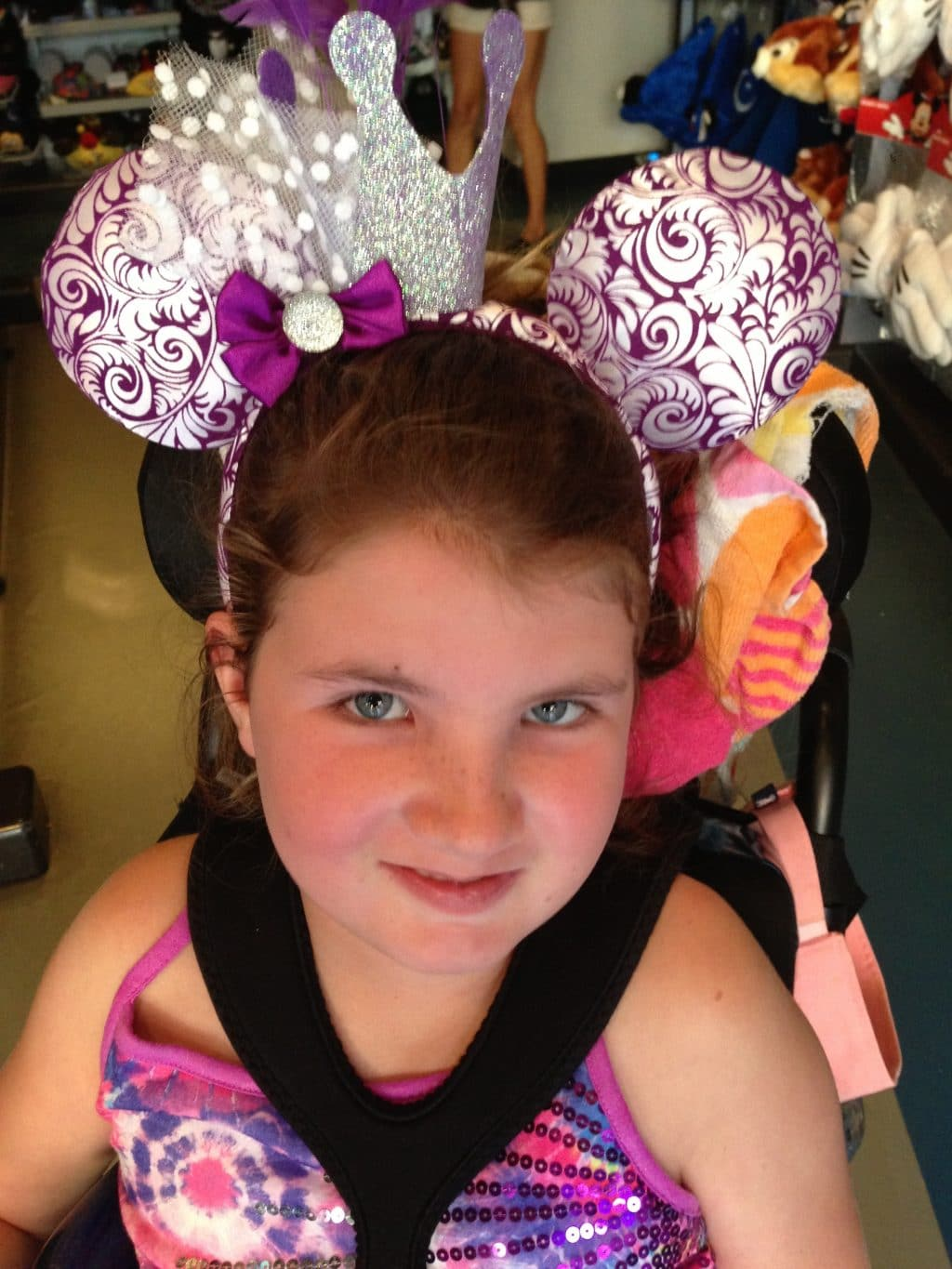 Lily-with-mickey-mouse-ears
